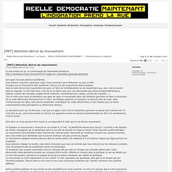 [MET] Attention dérive du mouvement.