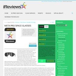 Meta Pro Space Glasses - iReviews