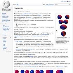 Metaballs