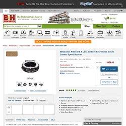 Metabones Nikon G & F Lens to Micro Four MB_SPNFG-M43-BM1