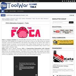 Information Security (InfoSec) Tools