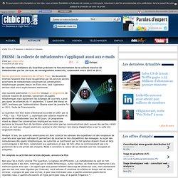 PRISM : la collecte de métadonnées s'appliquait aussi aux e-mails