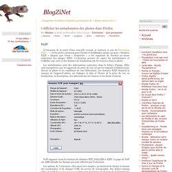 Afficher les métadonnées des photos dans Firefox - extensions FxIF et Exif Viewer pour Mozilla Firefox, Thunderbird et SeaMonkey