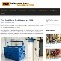 14 Best Metal Tool Boxes Reviewed & Rated in 2021