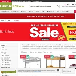 Metal Bunk Beds & Mid Sleeper Bunk Bed Online in UK