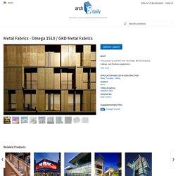 Metal Fabrics - Omega 1510 / GKD Metal Fabrics
