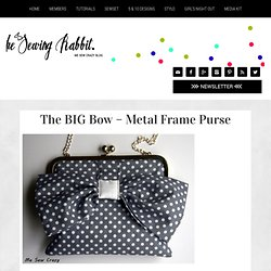 The BIG Bow - Metal Frame Purse