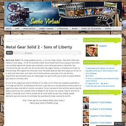 Metal Gear Solid 2 – Sons of Liberty