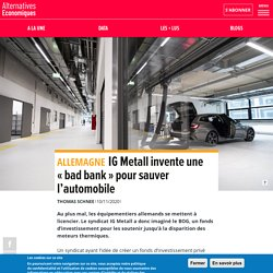 IG Metall invente une «bad bank» pour sauver l'automobile