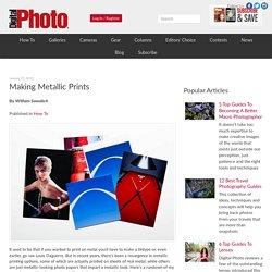 Making Metallic Prints - Digital Photo Magazine