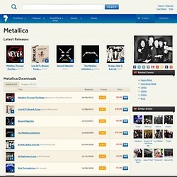 Metallica MP3 Downloads - 7digital