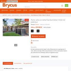 Cabine à vélos métallique Veloc II 4,02 m2 Extérieur en acier galvanisé — BRYCUS