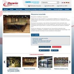 mezzanine métalliques industrielles