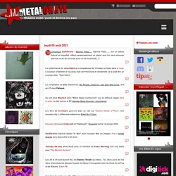 News metal, punk, rock, hardcore, black, death, thrash, doom...