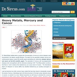 Heavy Metals, Mercury and Cancer