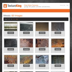 Metals Textures from TextureKing