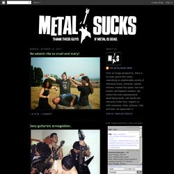 Metalsucks @ blogspot.com