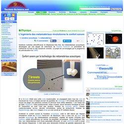 L'ingénierie des métamatériaux révolutionne le confort sonore