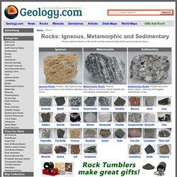 Geology.com: Rocks