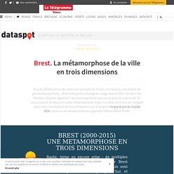 Brest. La métamorphose de la ville en trois dimensions - #Dataspot - LeTelegramme.fr