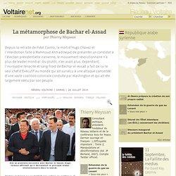 La métamorphose de Bachar el-Assad, par Thierry Meyssan