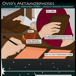 Ovid's Metamorphoses » Met. 1.1-4 – Proem and Creation