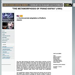 THE METAMORPHOSIS OF FRANZ KAFKA - FILM ADAPTATION