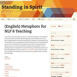 Metaphors for NLP & Teaching