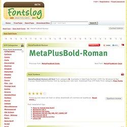 MetaPlusBold-Roman
