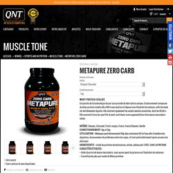 METAPURE ZERO CARB - QNTSPORT.COM
