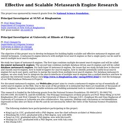 24 Metasearch Engines for Centralized & Efficient ... |Metasearch Engine