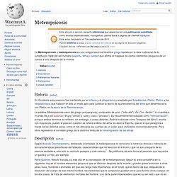 Metempsicosis