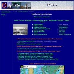 Météo Atlantique - cartes meteo marine ocean atlantique
