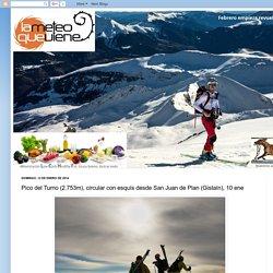 Pico del Turno (2.753m), circular con esquís desde San Juan de Plan (Gistaín), 10 ene