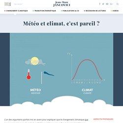 Météo et climat, c'est pareil ?