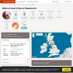Météo et climat : Skye (Royaume-Uni) - Quand partir à Skye ?