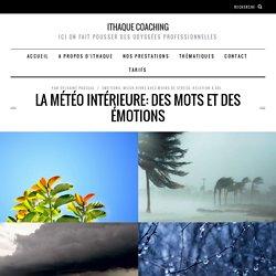 La météo intérieure: des mots et des émotions