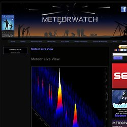 Meteor Live View