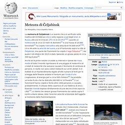 Meteora di Čeljabinsk