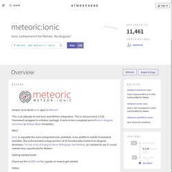 The trusted source for JavaScript packages, Meteor resources and tools