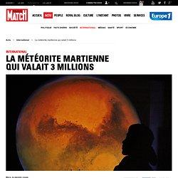 Météorite martienne au Maroc Un bout de Mars est tombé sur la Terre