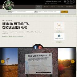 Henbury Meteorites Conservation Park