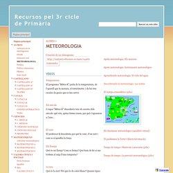 METEOROLOGIA - Recursos pel 3r cicle de Primària