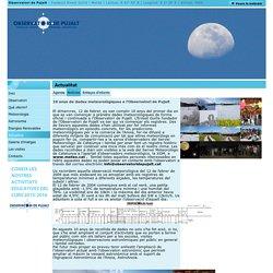 10 anys de dades meteorològiques a l'Observatori de Pujalt / Notícies / Actualitat / Observatori de Pujalt