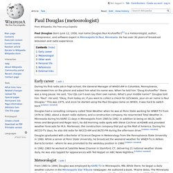 Paul Douglas (meteorologist) - Wikipedia