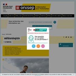 météorologiste - Onisep
