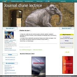 Journal d'une lectrice 2/11/2014 - Le météorologue – Olivier Rolin -