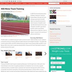 400 Meter Track Training