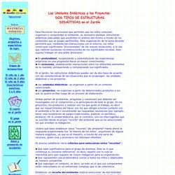 Meterial teórico: Unidades didácticas & proyectos