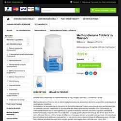 comprimés de méthandiénone - Steroid Shop Roidex
